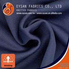 EYSAN Quick Dry Interlock 100 Polyester Pique Knitted Fabric