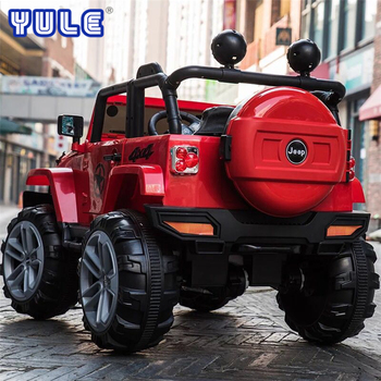 Hot Sale kids jeep 4X4 remote control electric ride on car for sale in Guangzhou