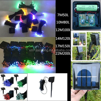 solar led christmas lights color changing led solar powered led string lights100 led solar