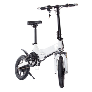 New Cheap Pit Aluminium Folding Golden Motor Electric Cycle Green City Fold Up Bike