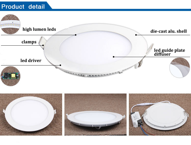 Home decor: led ceiling light, circular, flush mounting