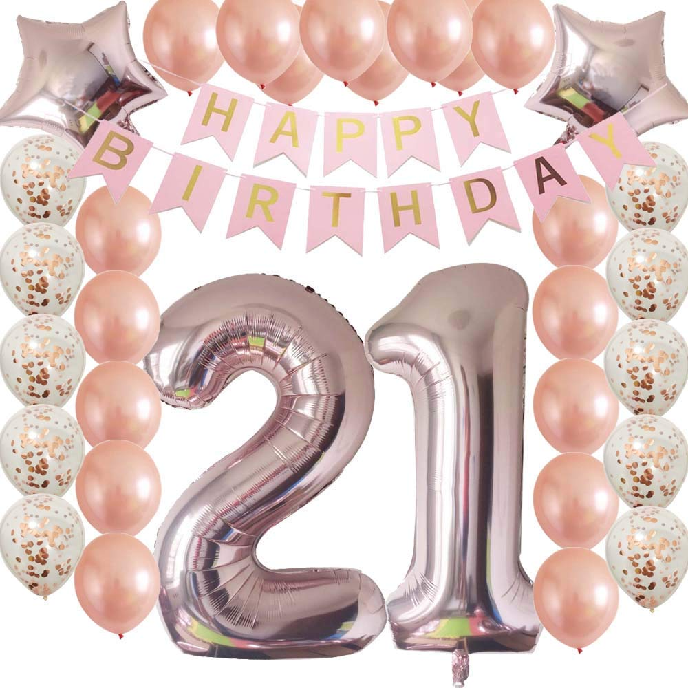 Cheap 21st Birthday Decorations For Girls Find 21st Birthday