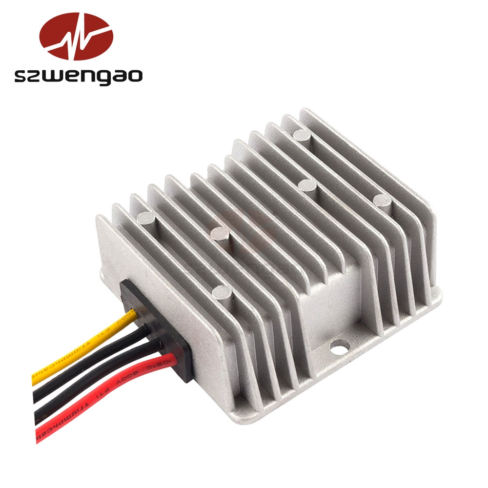 Buck/Boost Converter 9V 12V 24V 28V to 19V 5A Car Laptop Power Supply, DC-DC Voltage Regulator