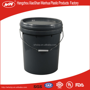 20L Plastic Bucket/drum/pail/container,the high quality plastic oil barrel,plastic bucket with holder for Battery