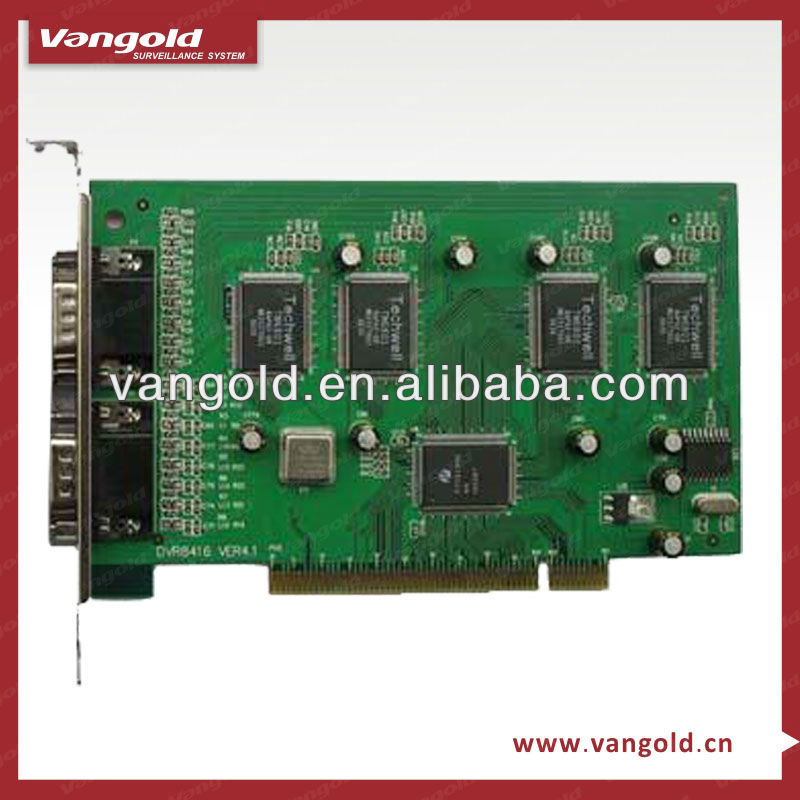 chinese wholesale 16 CH H.264 PC based DVR card 200 fps in PAL, 240 fps in NTSC(VG-M4116)