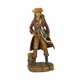 Lovely character the pirate king captain resin figurine statue decoration from sculpture