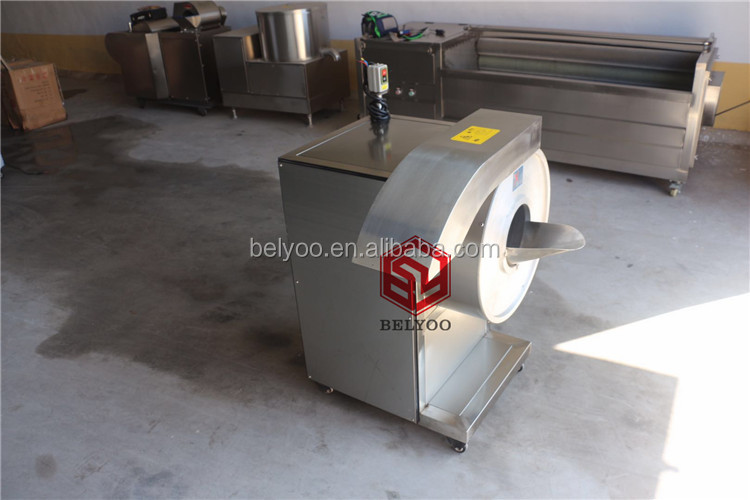 Commercial Automatic Commercial Potato Chips Cutter Carrot Cutting Machine