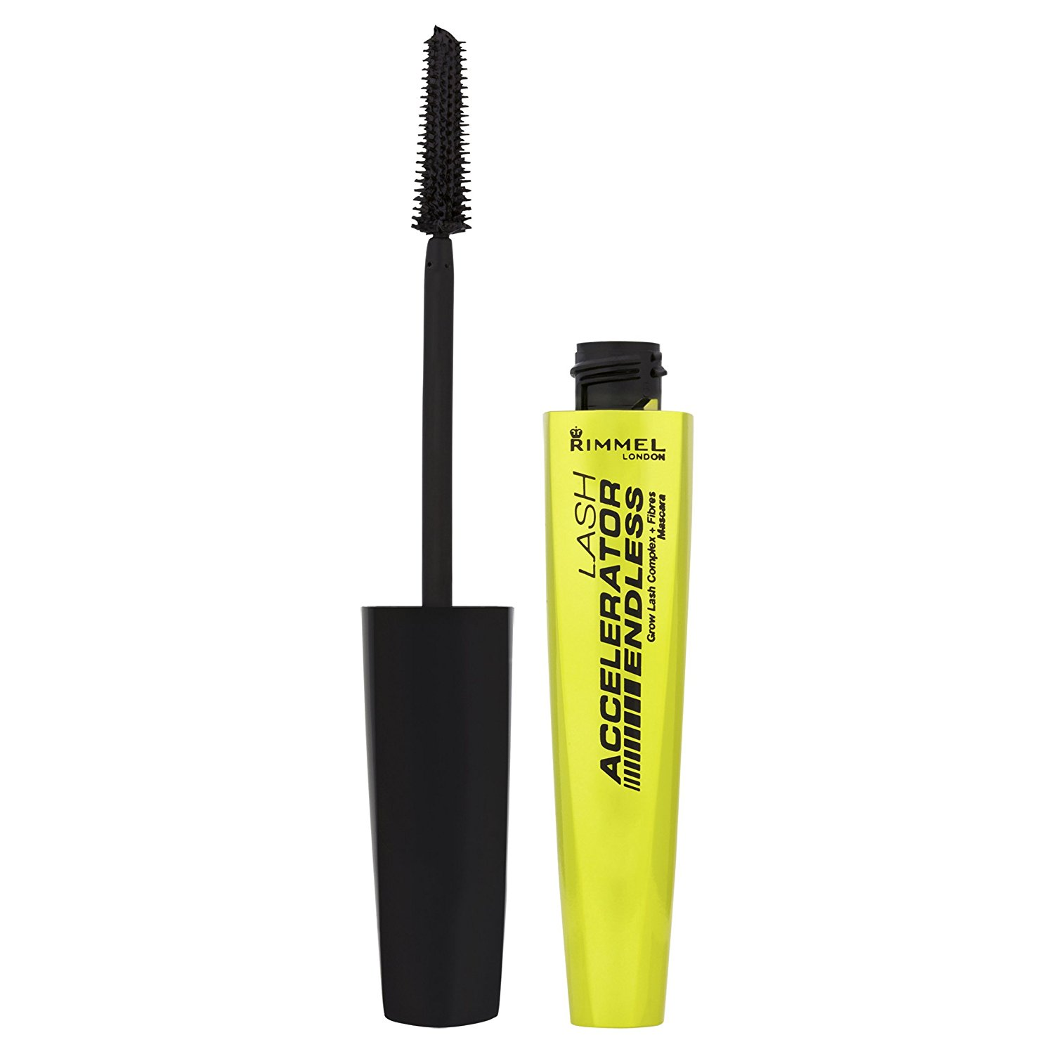 eb51e40a251 Get Quotations · Rimmel London - Lash Accelerator Endless Grow Lash Complex  Mascara - 001 Black. by USA