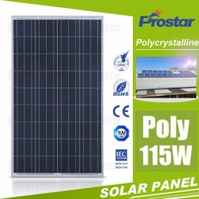 Cheap China Polycrystalline Solar Panel 115W 18V Cell Photovoltaic For Home Battery Charger Solar Energy