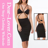 Elegant Formal Party sexy expensive Strap Down Bralette sexy high class dresses evening