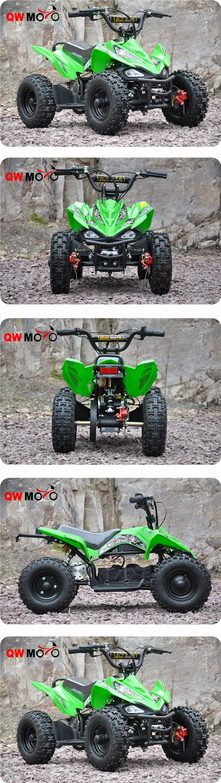 2015 Hot Sale Ce Electric Mini Quad Bike Atv Mini Moto With 500w