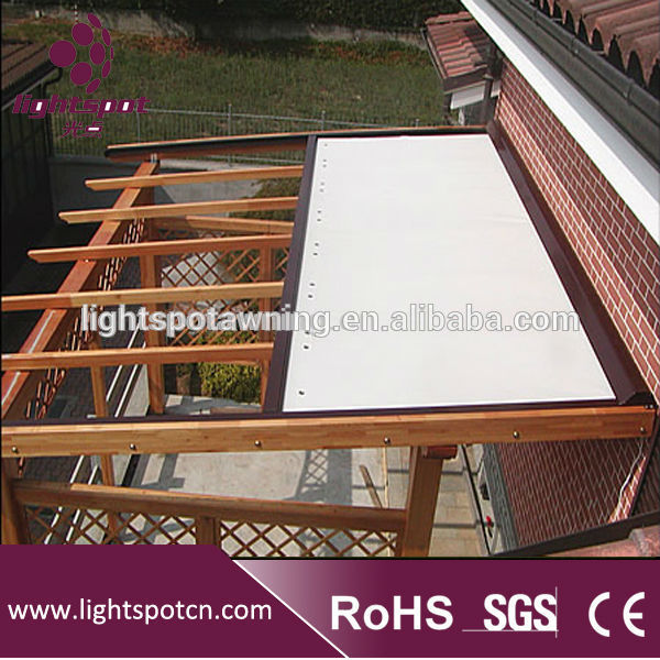 Modern Design Electric Canopy Awning With Remote Control