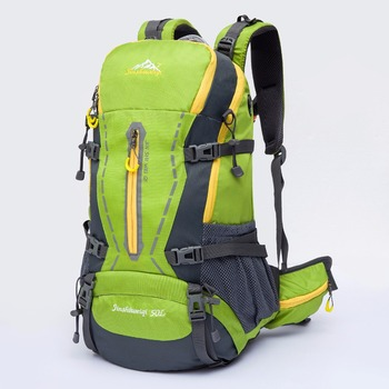 240b44a42f Jinshi 50L Hiking Camping Backpack Large Capacity Traveling Backpack Bags  Sport packs With High Quality