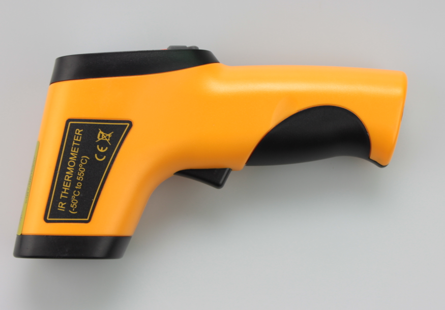 Lasergrip 1080 Non-contact Digital Laser Infrared Thermometer -58~1022F(-50~550C), Yellow and Gary