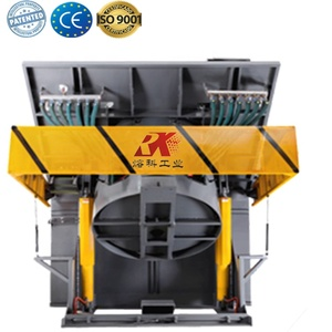 Chinese hot sale automatic rotary crucible blast furnace price