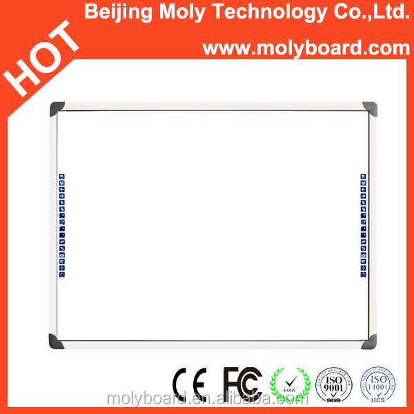 Office and school supplies infrared digital dry-erase compatible white board for presentation