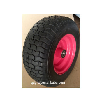 "16""X6.50-8 golf cart PU foam wheelbarrow tyre"