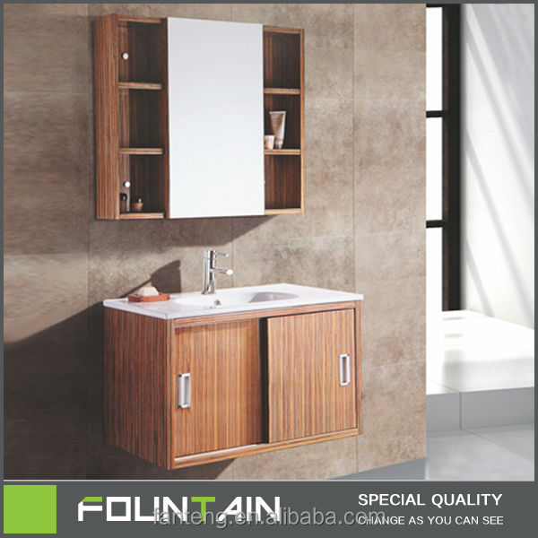 slide Door New Design Hanging Cabinet Mirrors Rustic Bathroom Vanities