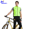 Reflective hi vis running cycling biker led safety vest with led light