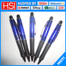 new machine manufacturing customized logo ball pen with eraser point