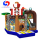 Hot sale mini indoor inflatable jumping bouncy castle, bouncer house inflatable for birthday party
