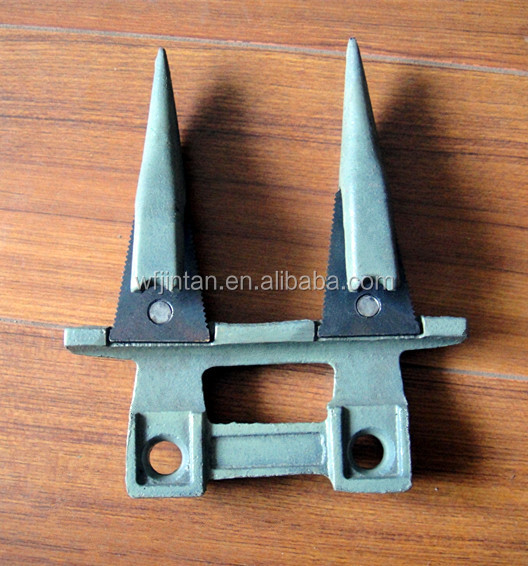 Double Finger Agriculture Machinery Parts Forged Knife guard