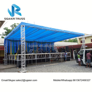 Outdoor Stage Roof Tops and Canopy Truss