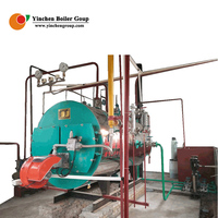 Steam engine gas boiler for room heating rice mill sale