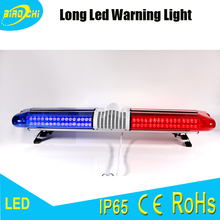 Factory 144W/120CM high intensity 12/24 volt blue&red full size led warning roof light for all cars