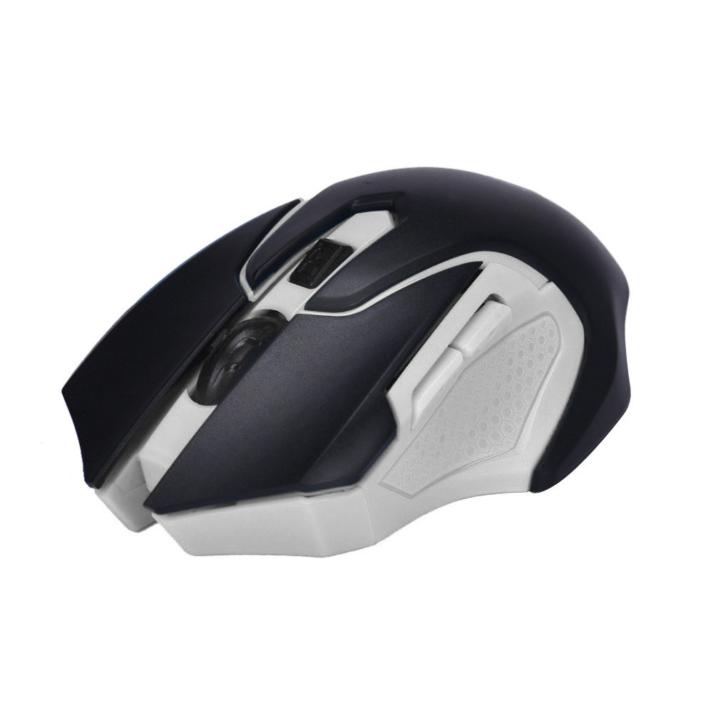 White wireless gaming mouse