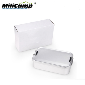 Food Grade Hiking Lunch Boxes Bento Aluminum Tiffin Lunch Box Bento Lunch Box Outdoor