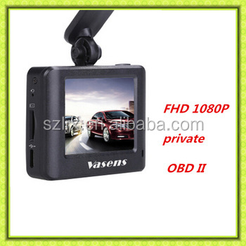Factoy Wholesales Dashboard Cam 360 Degree View Camera Manual Fhd 1080P 30fps HD Car Black Box, Car DVR with G-sensor