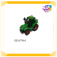 Plastic Friction Truck Toy For Kids Farm Tractor Toy