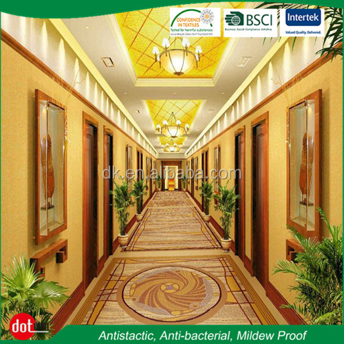 Hot Sell 5 Star Hotel Corridor Room Jacquard Luxury Carpet