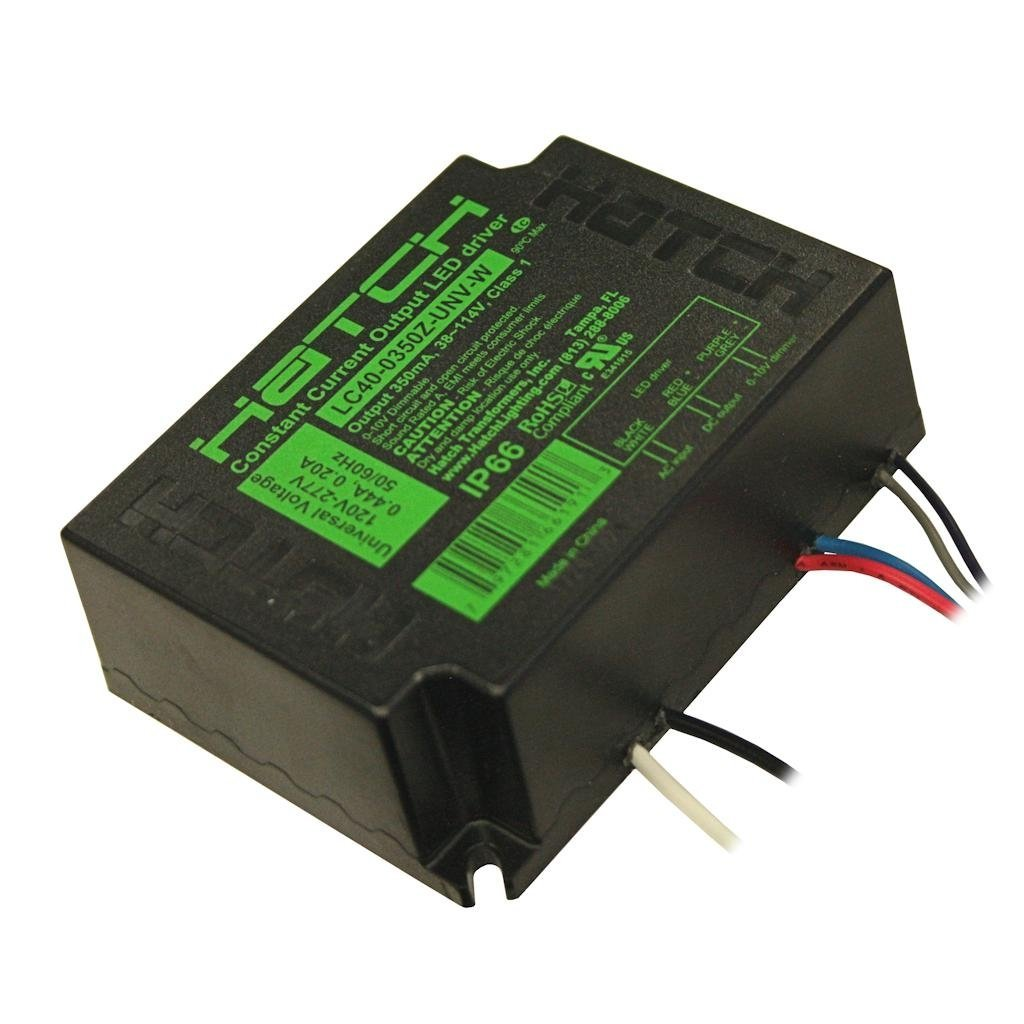 Cheap Constant Current Led Driver Schematic Find Watt 5 Dc To Circuit Wiring Get Quotations Hatch 40350 40 120 277 Vac Input Lc40