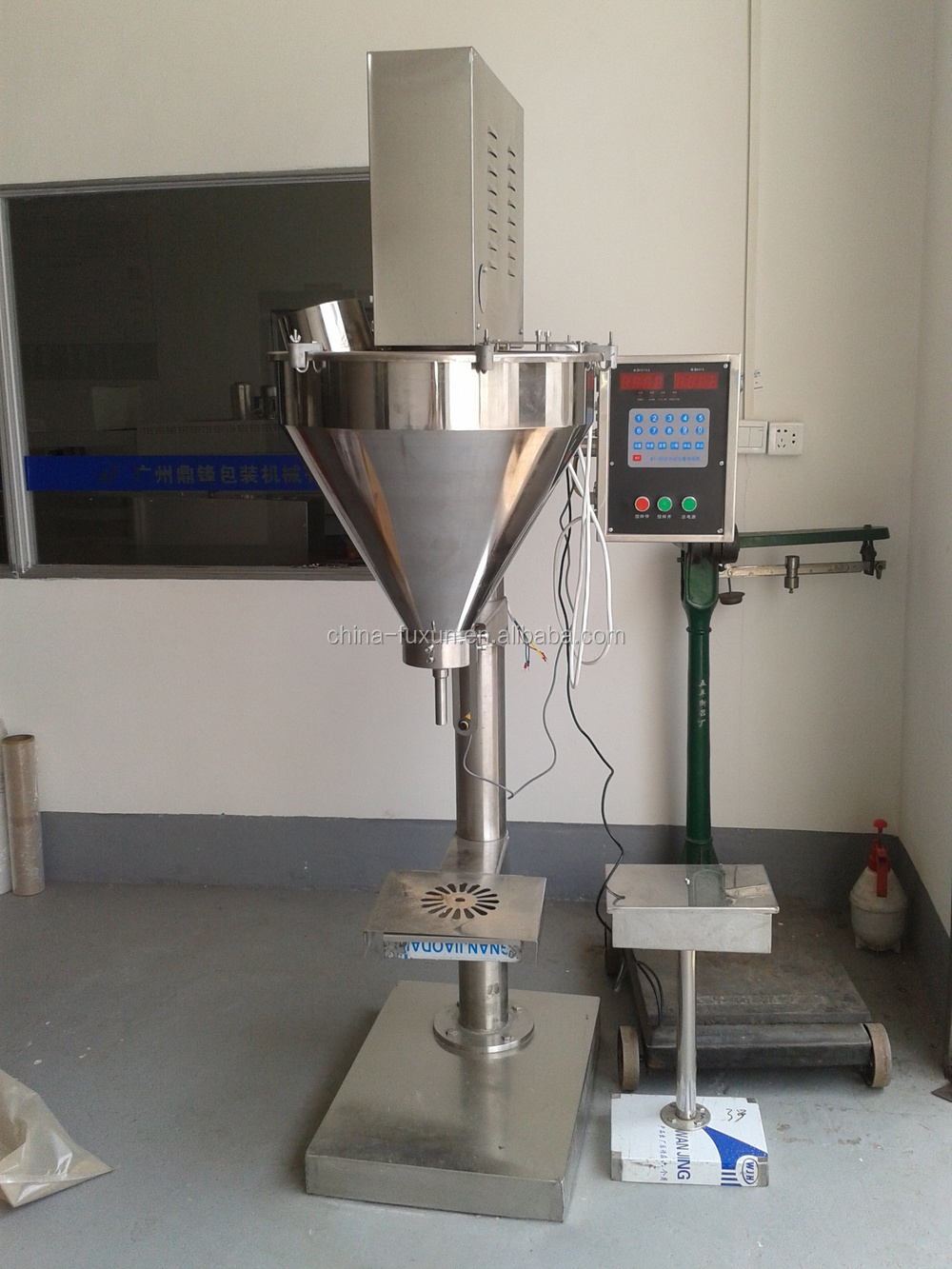 Manufacturer Wholesale Dry Chemical Powder Filling Machine