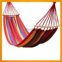 YKSP-162 2017 Trending Products Cheap Single Canvas Hammock Swing Chair, Portable Beautiful Hammock Outdoor And Garden Accessory