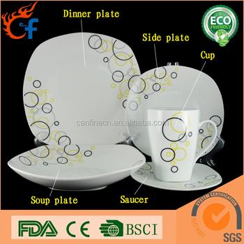Wholesale china dinnerware fine white unbreakable stoneware rustic restaurant dinnerware set  sc 1 st  Alibaba & Wholesale China Dinnerware Fine White Unbreakable Stoneware Rustic ...