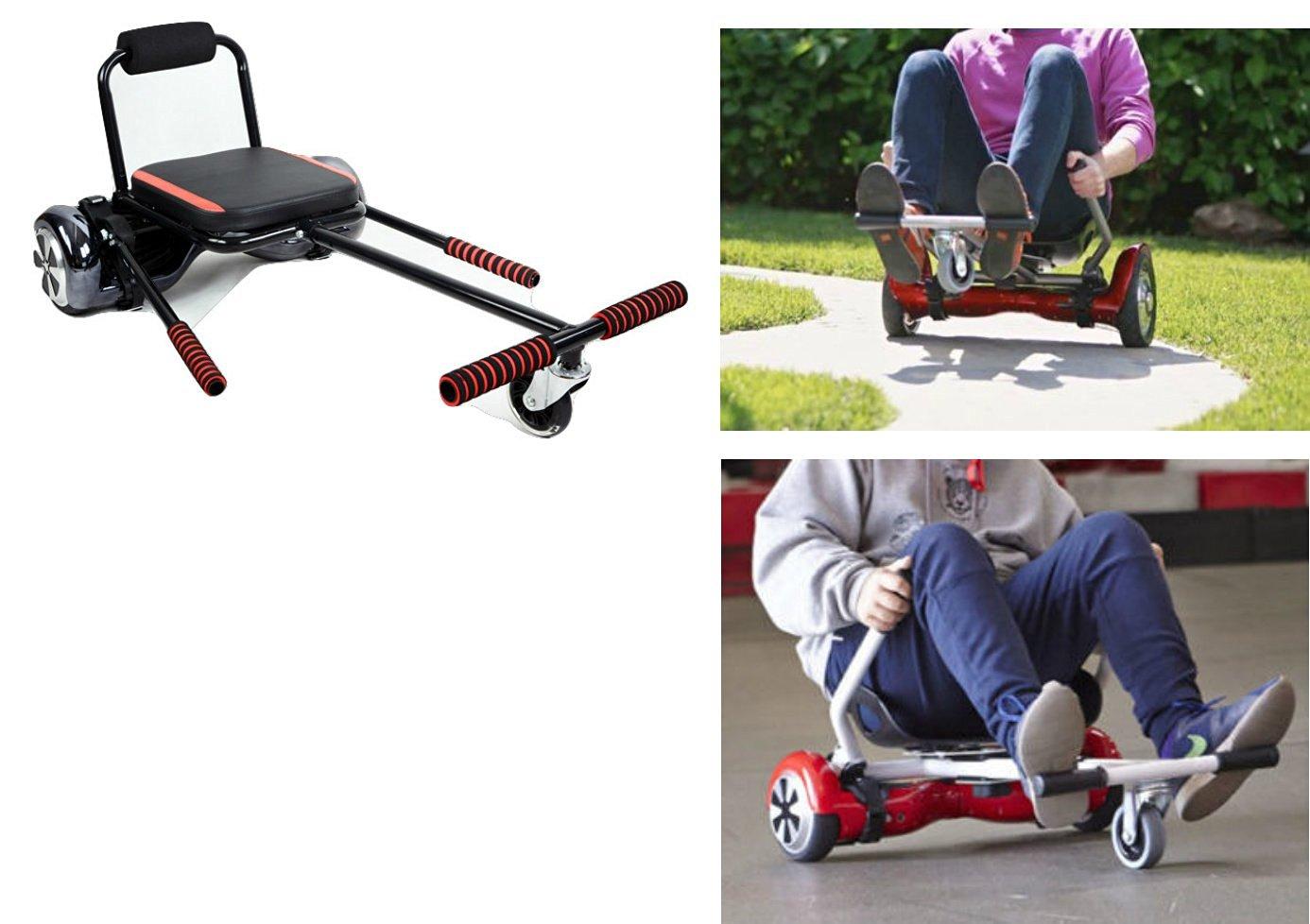 SmartKart™ By Bitronics Gear Transform hoverboard into hoverkart, gocart,