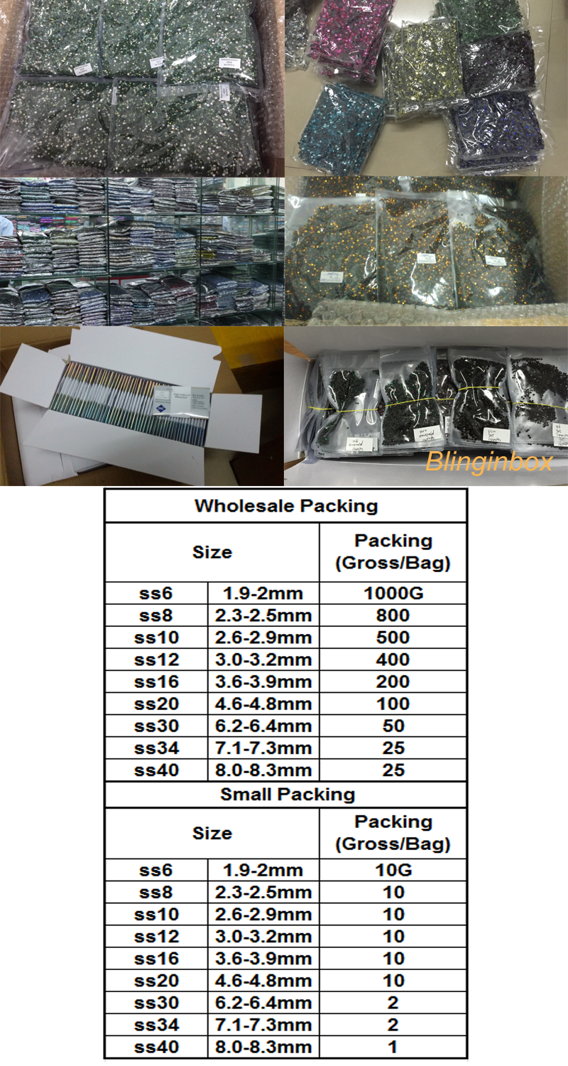 Factory wholesale various AB colors hot fix dmc machine cut glass stones for rhinestone motif