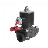 COVNA PVC DC 12V Gas Solenoid Valve Normally Closed