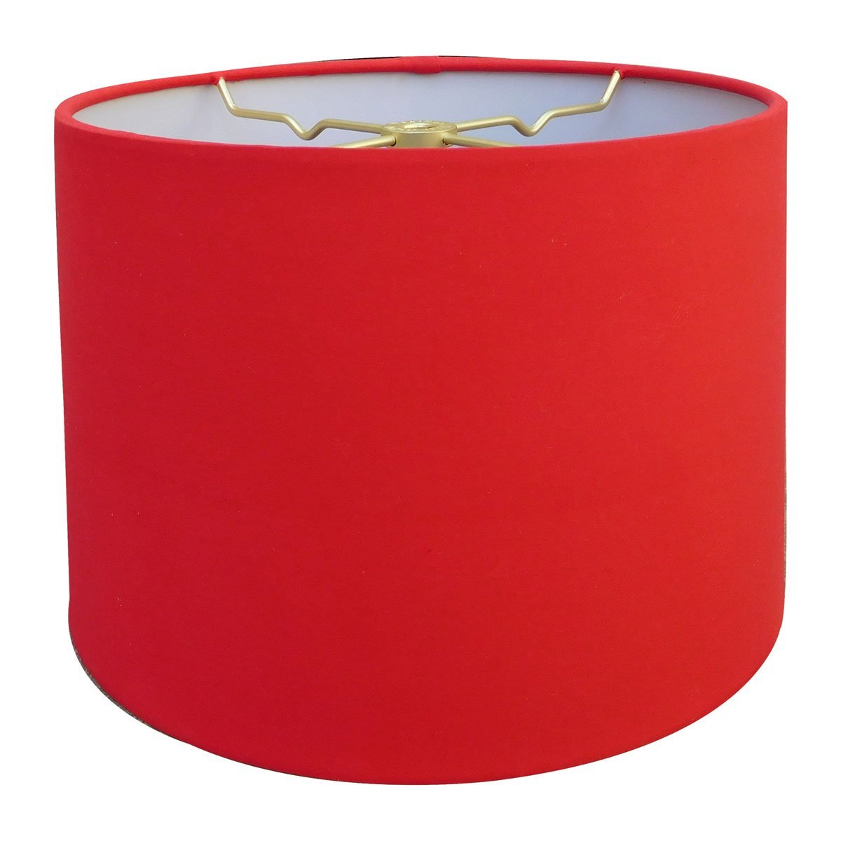 Get Quotations Royal Designs Red Shallow Drum Hardback Lamp Shade 15 X 16 10