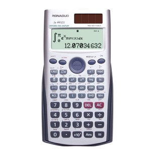 fx-991es using calculator big lcd screen calculator high quality 10-digit calculator