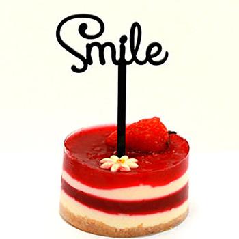 Custom Acrylic Cupcake Topper Happy Birthday Cake Decoration