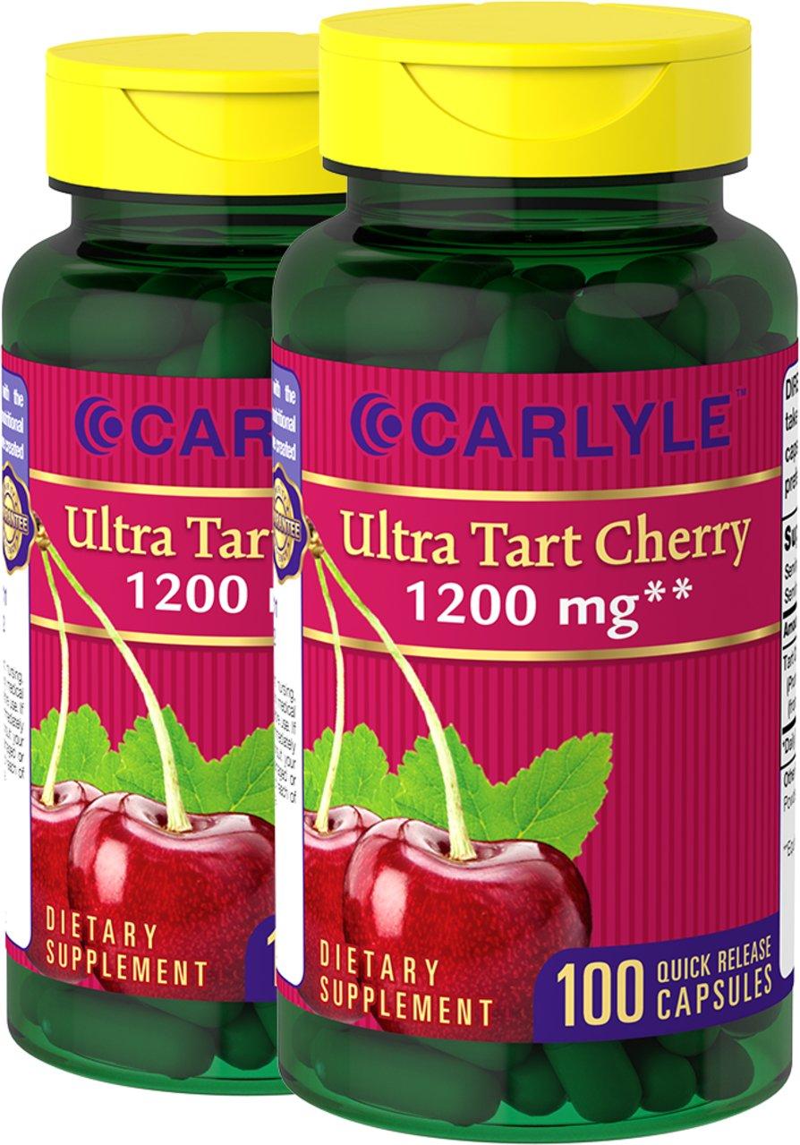 Carlyle Tart Cherry Extract 1200 mg 200 Capsules