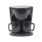450ML 450W automatic double cup coffee maker stainless steel
