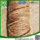 Twisted 7 cm natural jute line/ jute bamboo rope 4mm/ jute steel wire rope 48mm