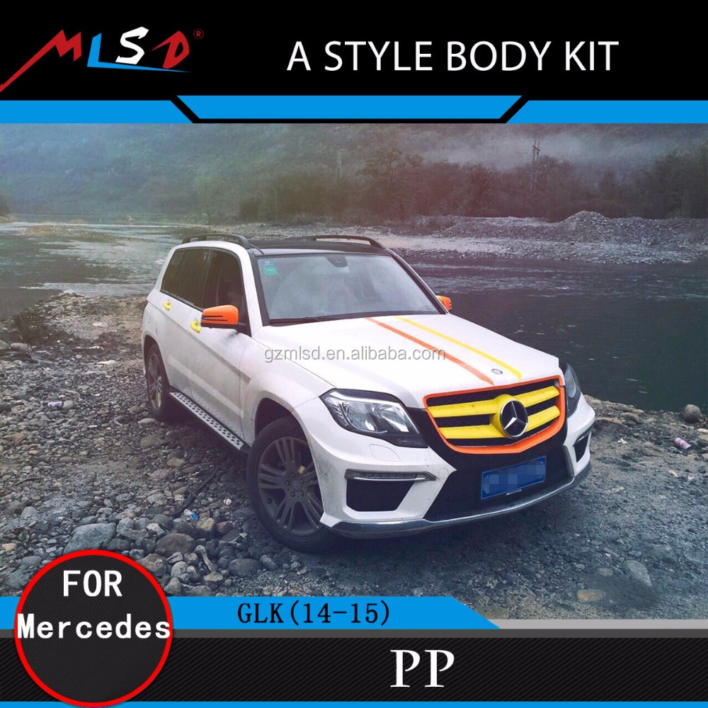 Auto onderdelen een stijl body kit met perfecte montage for Mercedes benz racing parts