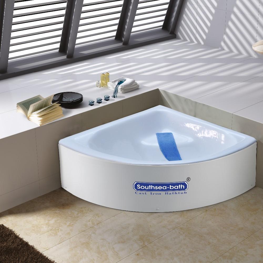 Cheap Small Corner Bathtub 1000mm/ Cast Iron Bath Tub - Buy Small ...