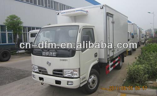 Dongfeng Cargo Van Refrigerated Van Truck For Cambodia - Buy Refrigerated  Truck,2 Ton Freezer Refrigerated Truck,Cargo Box Truck Van Product on